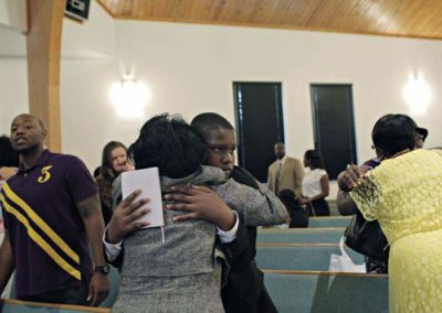 Davion's Prayer: Teenage Orphan goes to Church to Find a Family