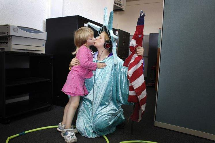 Lady Liberty: Living the American Dream